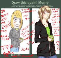 Draw this again meme by Namewithsense