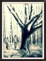 Boys in the woods by antart70