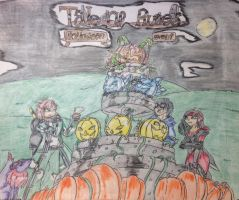 Tales Of Runes Holloween event by vivere-sectam129