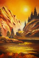 Glow before the shadows by XRlS
