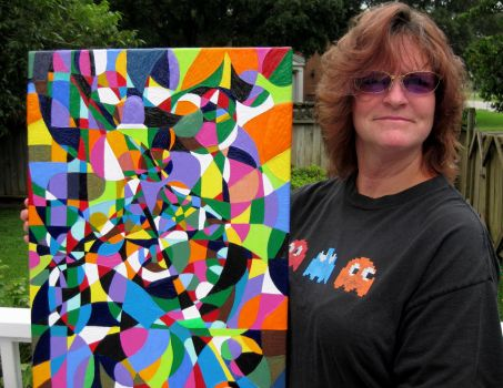 martha with was silly by AcrylicArtMeridians