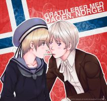 Happy Birthday, Norge by peace-of-hope