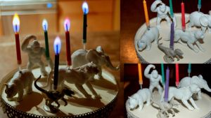 Animal Candle Holders by RaheHeul