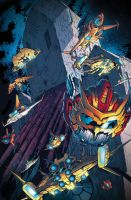 TF MTMTE #30 cover colors by khaamar