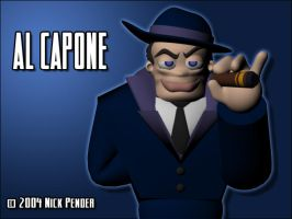 Al Capone - Final Render by nickowolf