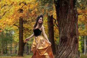 Golden Autumn Queen by silverwing-sparrow