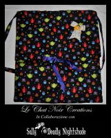 Alice In Wonderland Bag by LeChatNoirCreations