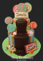 Willy Wonka Cake by ArteDiAmore