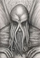 Cthulhu by edithemad