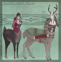 Auction #20 Taurs [0/2 Closed] by Aivomata
