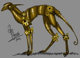 Steampunk Beastie by Seraphania