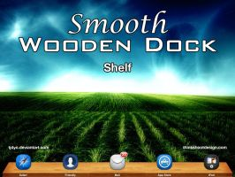 Smooth Wooden Dock - Shelf by Tjdyo