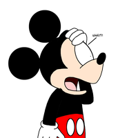Mickey reaction of Disney begin sued by SuperMarcosLucky96