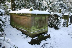 Winter cemetery stock 17 by Malleni-Stock