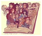 A Bookfull of Heroines by angel-gidget
