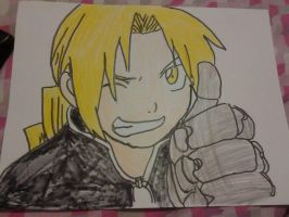 Edward Elric by shy-butterfly123