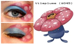 Pokemakeup 045 Vileploom by nazzara