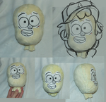 Dipper (Prototype head 2) by Skeleion