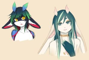 Faerin sketches by 216th