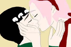 LeeSaku Kissing by SmoothCriminalGirl16