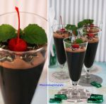 Dark Chocolate Mint Mousse by theresahelmer