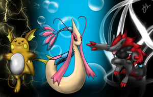 Pokemon Commission by The-Bomb-Dot-Com