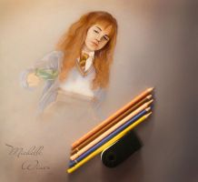 Hermione Granger - Chamber of Secrets sketch by Michelle-Winer