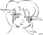 Crying Saria by TheForestGirl