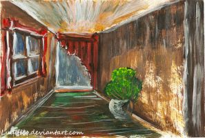 Room with a plant by Ludifico