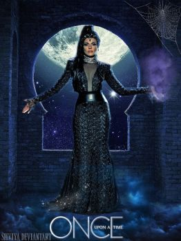The Evil Queen OUAT season 3 fanmade poster by silviya
