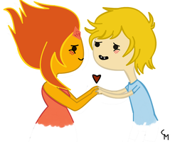 Finn and Flame by ClaraNyan