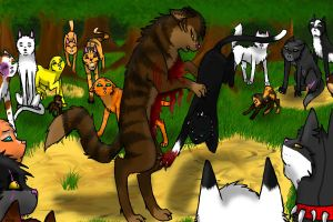 Tigerstar's Death by earthsongrising