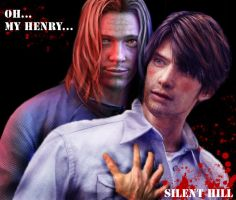 Walter and Henry.silent hill 4 by D-A-G-A