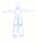 Mecha Sync Pencil Test by BloodLily16