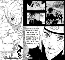 Naruto Chapter 603 *SPOILER* Rin is a bitch by kurothehedgehog12