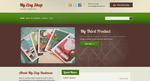Etsy Shop Blogger Template 1 by idzynme
