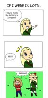 Lord of the Rings comic by fruitsnacks222