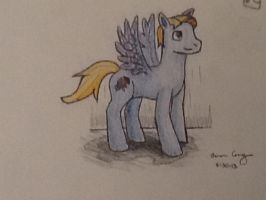 The New Pony Style (example: Cloud Drawer) by Aaronicus