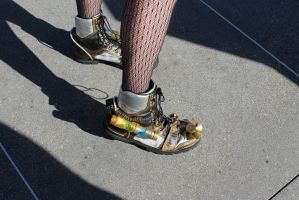 WC13-Cool Shoes by moonymonster