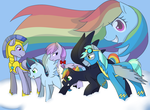Children Of The Rainbow - Colored by MaruFrog