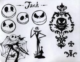 Jack Skellington by MissMurder87