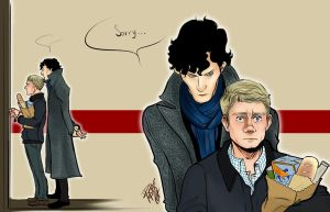 Johnlock sorry 2 by Slashpalooza