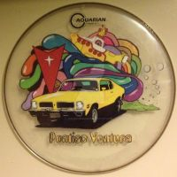 1973 Pontiac Ventura With Yellow Submarine by Jesuschris666