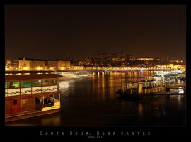 Earth Hour: Buda Castle by Mr808