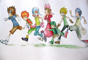 Digimon Adventure by twilightprncs
