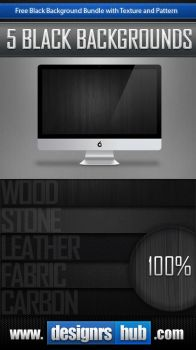 Free Black Background Bundle by MGraphicDesign