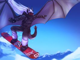 Snowboarding by 2078