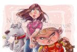 Brian, Meg and Stewie by nuriaabajo