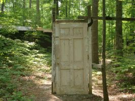 The Door to Nowhere by rykos