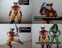 Comic Pack Wolverine by lovefistfury